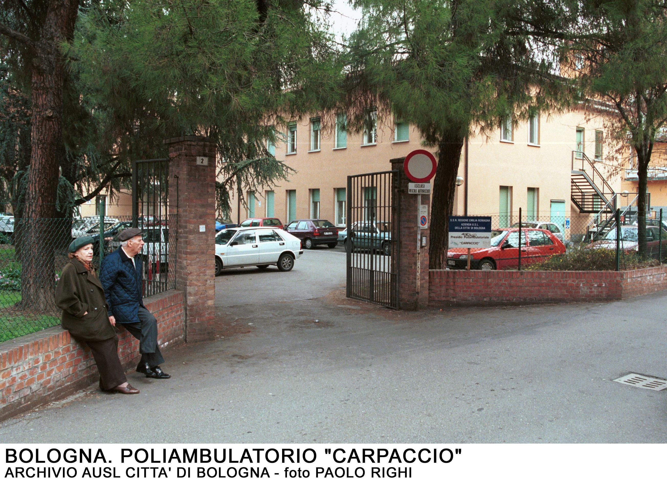 Ufficio Quartiere Saragozza Bologna : Bologna quartiere savena poliambulatorio carpaccio u ausl di